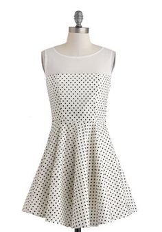 Lindy Dot Dress, #ModCloth
