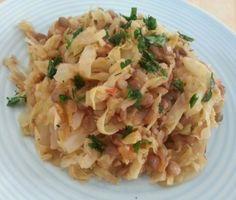 Капуста,тушеная с чечевицей и томатами Vegetarian Food, Healthy Food, Healthy Recipes, Potato Salad, Potatoes, Ethnic Recipes, Healthy Foods, Vegetarian Cooking, Potato