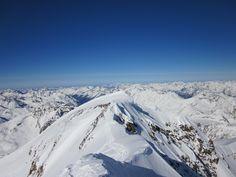 Winter Outdoor in Österreich Tirol Ötztaler Alpen