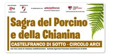 Sagra del Porcino e Della Chianina Porcino Mushroom and *Chianina meat Festival, Oct. 11-12, Oct. 18-19, Oct. 25-26 and Nov. 1-2, in Castelfranco di Sotto (Pisa), Via Provinciale Francesca Sud 30-32; live music starts at 9 p.m. * The Chianina meat is one of the most renowned products of Tuscany. The Chianina is an Italian breed of cattle now raised mainly for beef. It is the largest and one of the oldest cattle breeds in the world. The famous bistecca alla fiorentina is produced from its…
