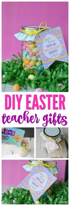 Michelle paige easter favors for teachers friends and family diy easter teacher gifts a fun way to celebrate easter in your school this negle Image collections
