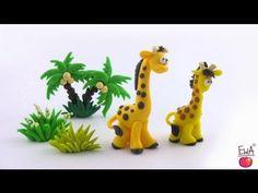 LET'S CLAY! Giraffe tutorial - żyrafa z modeliny