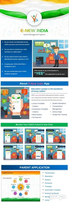 E New India | Online School Management System | School ERP Software - Magazine with 10 pages: ENewIndia is an online school management system and school ERP software developed for communication between school-teacher-parent. It is the most comprehensive ERP software which manages multiple schools under single platform. GPS Bus Tracking, Time Table, App Attendance, Exams and more, call us on - 9923599971.