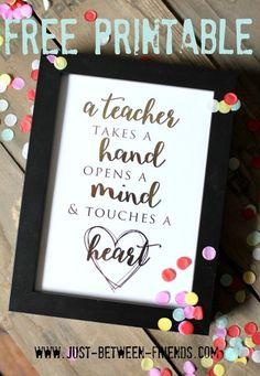 Teacher Appreciation Gift Ideas They'll LOVE! - Bite Sized Biggie
