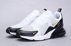 Men's Nike AIR MAX REACT 270 in whiteyellowredblack running Sport shoes