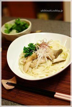 鶏のつるりんにゅうめん - 朝ごはんレシピ/朝時間.jp by レシピブログ/あったまりたい時、軽く済ませたい時とかに最高