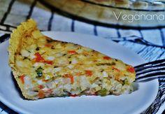 Torta de Grão de Bico com Palmitos - Veganana