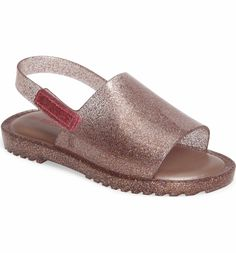 Main Image - Mini Melissa Mia Fabula Sandal (Walker & Toddler)