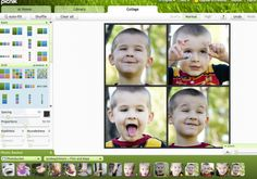 creating a photo collage in picnik
