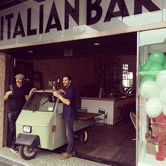 OPENING DAY Italian Bar, Sydney Australia