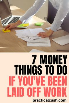 Laid off from work? 7 financial tasks to complete to make unemployment less stressful Make More Money, Ways To Save Money, Money Saving Tips, Money Tips, Money Hacks, Saving Ideas, Budgeting Finances, Budgeting Tips, Money Management Books