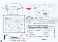 Polish Language, School Notes, Hand Lettering, Back To School, Study, Education, Learning, Literatura, School Grades