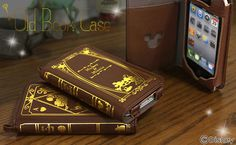 Disney Character Old Book Case for iPhone 4S/4