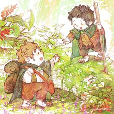 Lord of the rings- Frodo and Sam by harmonia3784 on DeviantArt