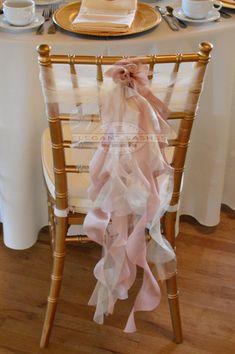 Set de 10 Blush color rosa satén marfil por elegantsashesandmore