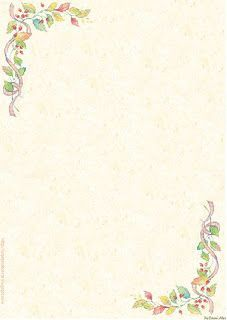 Resultado de imagem para papel de carta floral