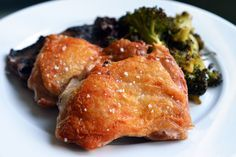 Sous Vide Crispy Chicken Thighs    I think I am going to buy duck fat for this recipe!    http://nomnompaleo.com/post/2322154049/sous-vide-crispy-chicken-thighs