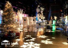 centerpieces for winter wonderland party | Winter Wonderland