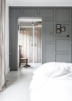 Living behind the mill - Features Living Room Bedroom, Home Bedroom, Master Bedroom, Bedrooms, Inspirational Wallpapers, Interior Photography, Interior Paint, Hygge, Interior Styling