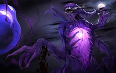 dota2 Bane Elemental by biggreenpepper