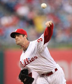 Phillies starter Cole Hamels throws against the Nationals during the first inning. (Steven M. Falk / Staff Photographer)