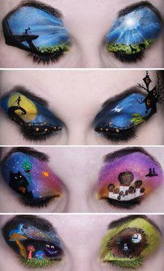 Disney eye shadow!