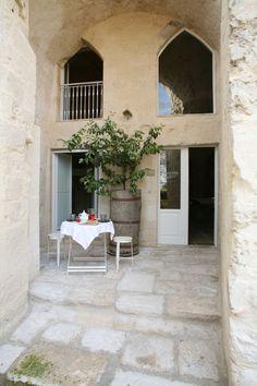 Interior Designer: Cristina Bergamini - Hotel in Pietra - Matera, Italy
