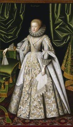 Anne Cecil, Countess of Stamford  by William Larkin English Heritage, Kenwood  Date painted: c.1614–1618