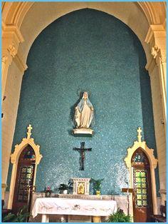Interior parroquia de nuestra se ora de los ngeles calle for Calle prado de la iglesia guadarrama
