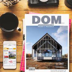 """Najnowszy numer magazynu """"Dom Jednorodzinny Projekt&Realizacja"""" jest już w sprzedaży, a w nim nasze najnowsze oraz najciekawsze projekty📚"""