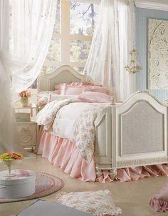 Shabby chic Schlafzimmer Dekor – erstellen Sie Ihre persönliche romantische Oase