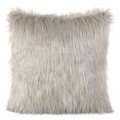 Svetlohnedá dekoračná chlpatá obliečka na vankúš Throw Pillows, Toss Pillows, Cushions, Decor Pillows, Decorative Pillows
