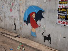 Street Art from Seoul Area, South Korea. Photo by Mark Johnson 4