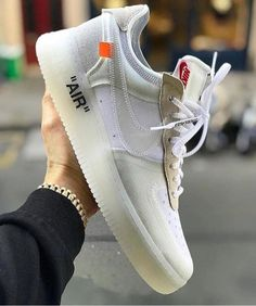 """best loved a097b 8f5a6 Off - White """"AF1"""" ASK CAM Size US 10 Nike Af1, Adidas Sneakers"""