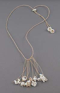 Necklace  Artist: Kay Sekimachi