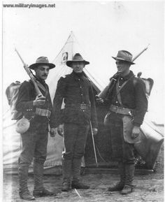 US Soldiers, Spanish-American War
