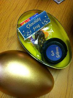 Harry Potter Party favors - dragon egg