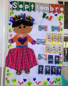 Puerta decorada del mes de septiembre puertas school for Puertas decoradas para el 16 de septiembre