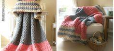 Squishy Crochet Blanket