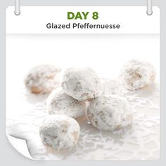 25 Days of Christmas Cheer :: Day 8 :: Glazed Pfeffernuesse Recipe from Taste of Home -- shared by the Taste of Home Test Kitchen