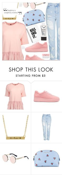 """""""Simplicity is...."""" by mycherryblossom ❤ liked on Polyvore featuring Topshop, Miu Miu and Stila"""