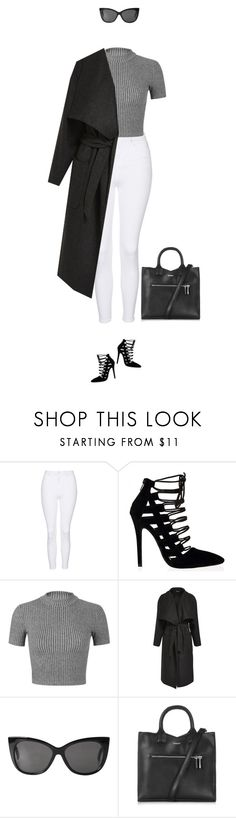 """""""Brunch outfit !"""" by azzra ❤ liked on Polyvore featuring Topshop, Miss Selfridge, Monki, women's clothing, women's fashion, women, female, woman, misses and juniors"""