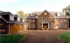 Jed and Veronica live in Longcross House. Veronica, Two By Two, Death, Mansions, Live, House Styles, Home Decor, Decoration Home, Manor Houses