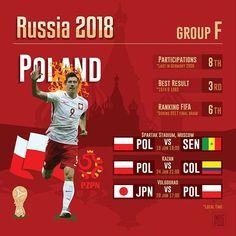 Poland at the World Cup  Group H .  #GroupH #WorldCup #Russia2018 #Poland #Polska  #POL #Colombia #COL #Senegal #SEN #Japan #JPN #Moscow #Kazan #Saransk #Samara #Volgograd .  Source #FIFA and Wiki .  #countries #maps #map #flags #flag #infographic #football #soccer #travels #forpix #inforpx .  @_rl9 @laczynaspilka @polandsights @fcbayern #bayern .  Design @mmcasimiro  Follow @inforpx @forpixdesign
