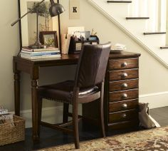 Printer's Small Desk Set | Pottery Barn