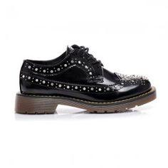 Nízke topanky s kryštálmi 172B /S2-67P Men Dress, Dress Shoes, Women's Shoes, Derby, Shoe Boots, Oxford Shoes, Lace Up, Spring, Summer
