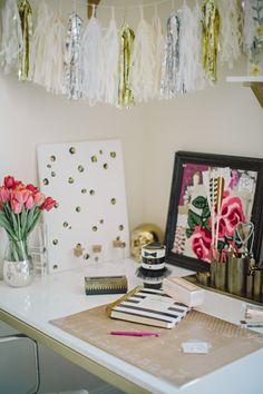 refresh your desk for summer