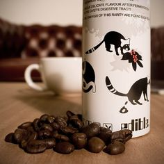 Civet Coffee (Kopi Luwak) - yes it's real, you can really buy it! Read the descriptions. Best laugh I've had in a while!
