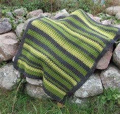 Baby blanket in v-st - Crochet Me