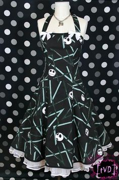 I found 'Nightmare Before Christmas Abstract Jack Dress' on Wish, check it out!